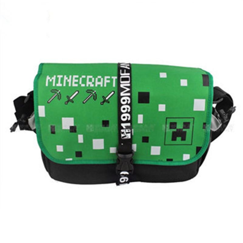 Timecosplay Minecraft Creeper JJ Cosplay Messenger Bag