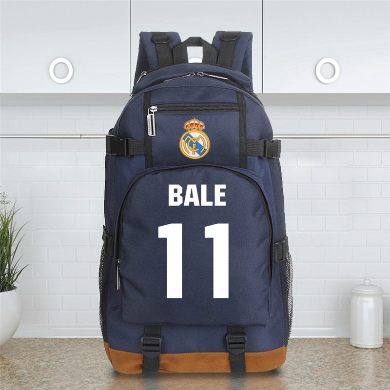 Timecosplay Real Madrid Gareth Bale 11 Schoolbag Backpack