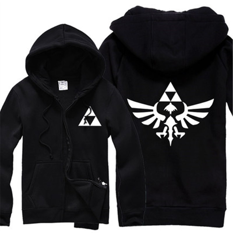 TimeCosplay The Legend of Zelda A Link to the Pas Cosplay Zipper Hoodies