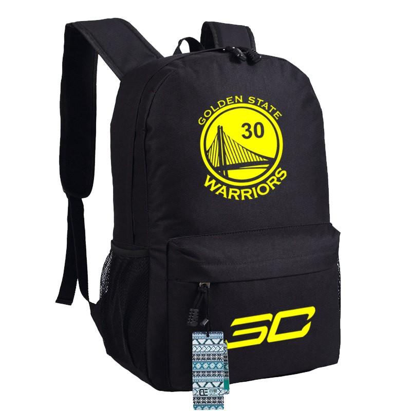 Timecosplay Warriors Stephen Curry 30 Shoulders Bag Schoolbag