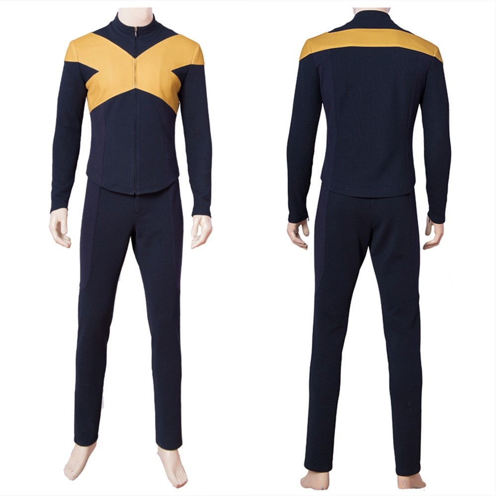 X-Men Dark Phoenix Male Cosplay Costume Uniform