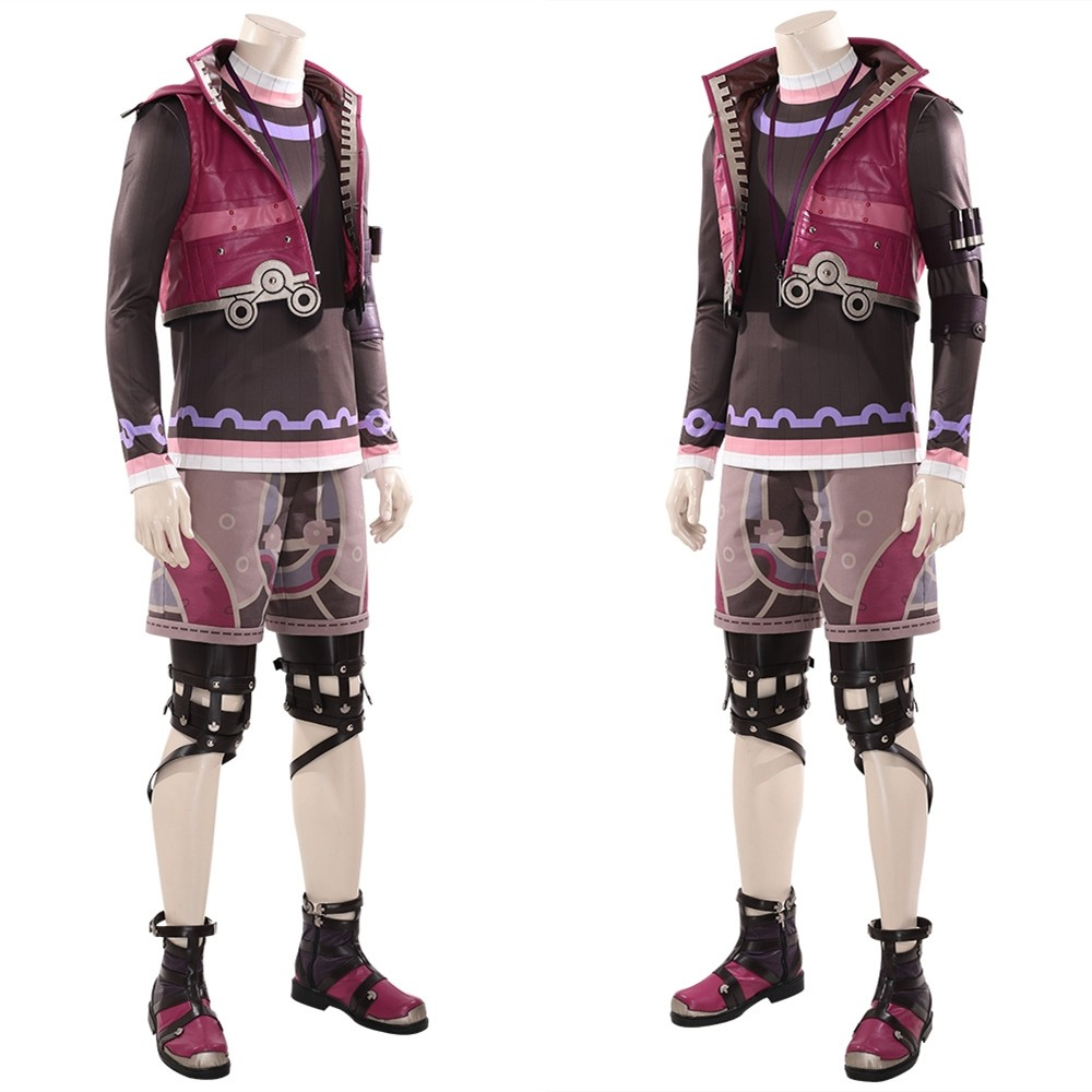 Xenoblade Chronicles Shulk Cosplay Costume