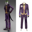 Arkham Asylum Joker Cosplay Costume Suit
