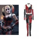Arkham City Harley Quinn Cosplay Costume Deluxe Outfit