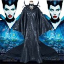 Disney Maleficent Black Witch Princess Dress Cosplay Costumes