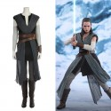 Star Wars 8 The Last Jedi Rey Costume Cosplay Outfit