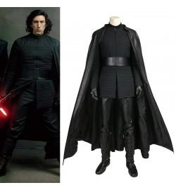 Star Wars 8 The Last Jedi Kylo Ren Costume Cosplay Deluxe Version