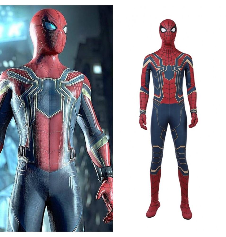 2018 Avengers Infinity War Spiderman Cosplay Costume