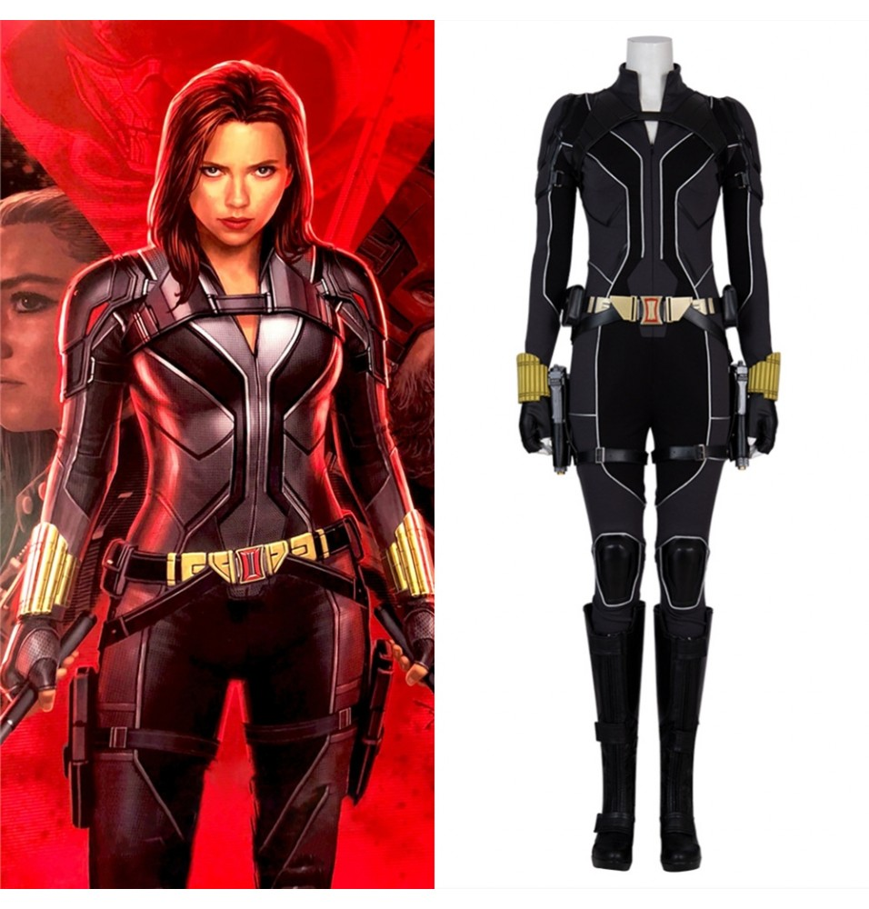 2020 Movie Black Widow Cosplay Costumes