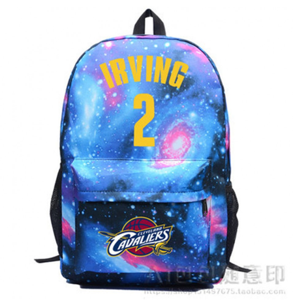 Cleveland Cavaliers IRVING Kyrie Irving 2 Star Backpack School Bag