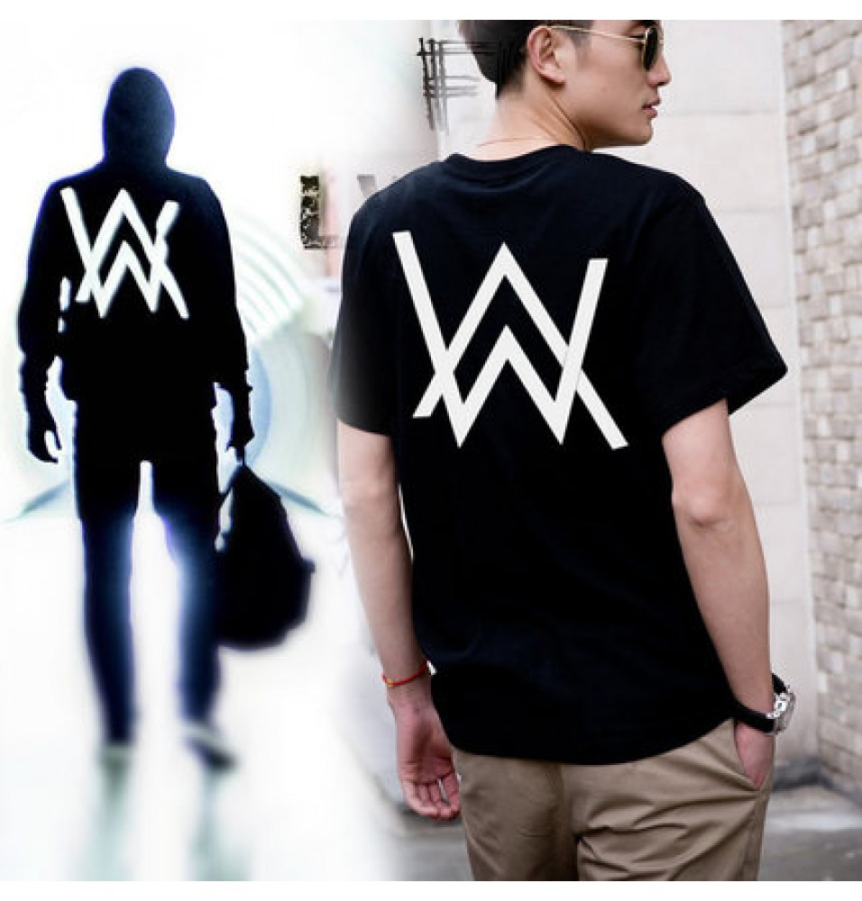 Alan Walker Faded Back Icon Short Sleeve T-shirt