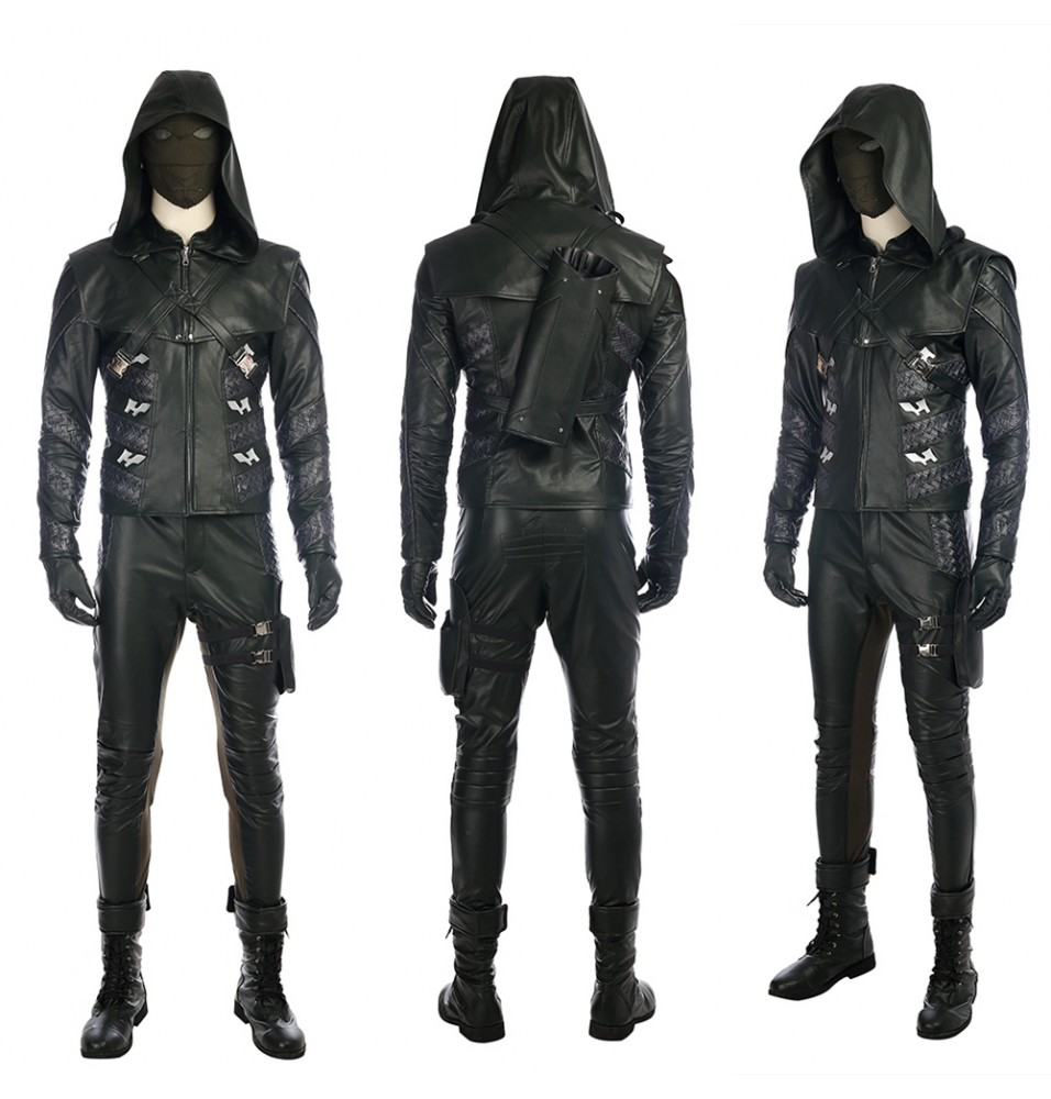Arrow Season 5 Prometheus Cosplay Costume