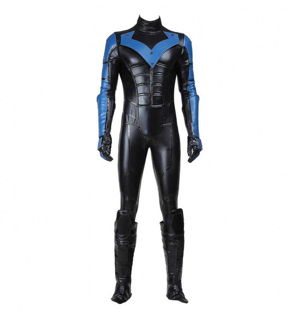 Batman Arkham City Nightwing Cosplay Costumes