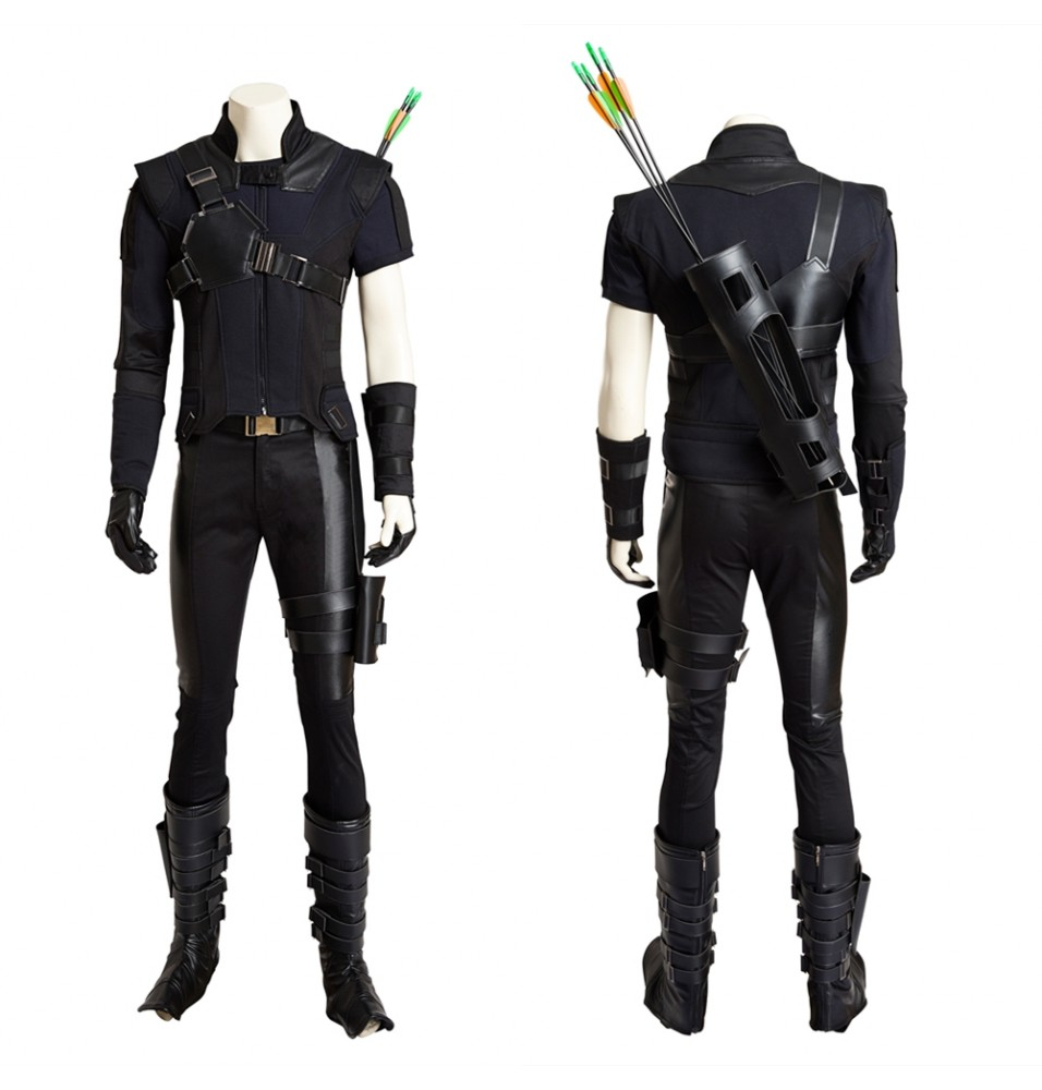Captain America 3 Hawkeye Cosplay Costume