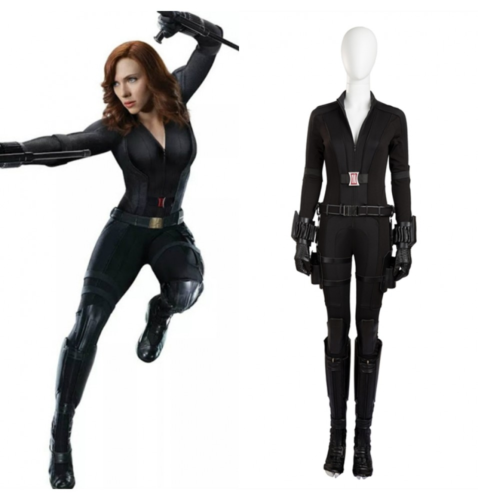 Civil War Black Widow Cosplay Costume Natasha Romanoff Costume