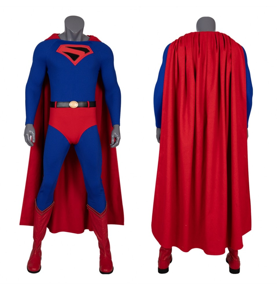 Crisis on Infinite Earths Superman Cosplay Costume