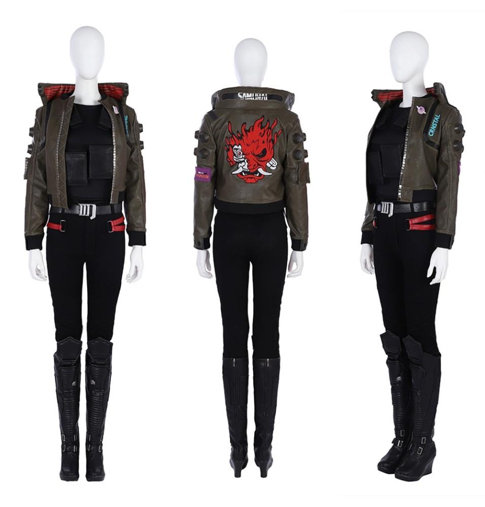 Cyberpunk 2077 Female V Cosplay Costume