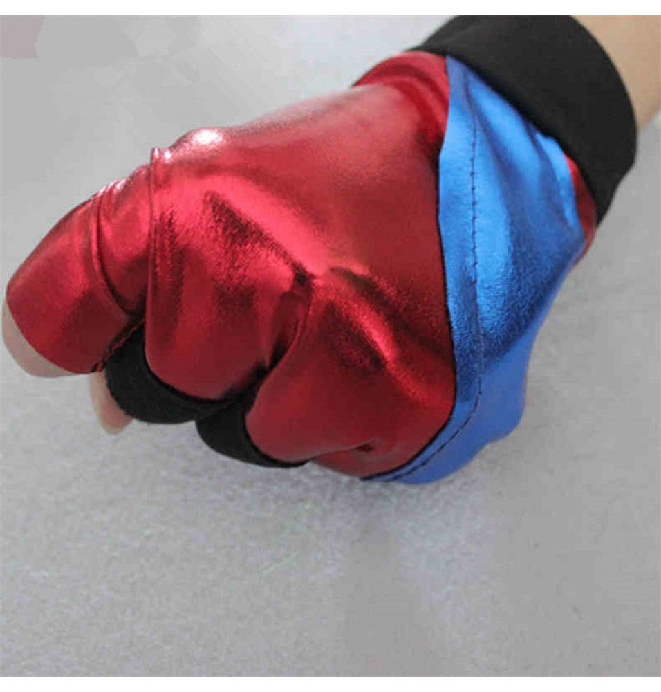 DC 2016 Movie Suicide Squad Harley Quinn Cosplay Gloves One Size