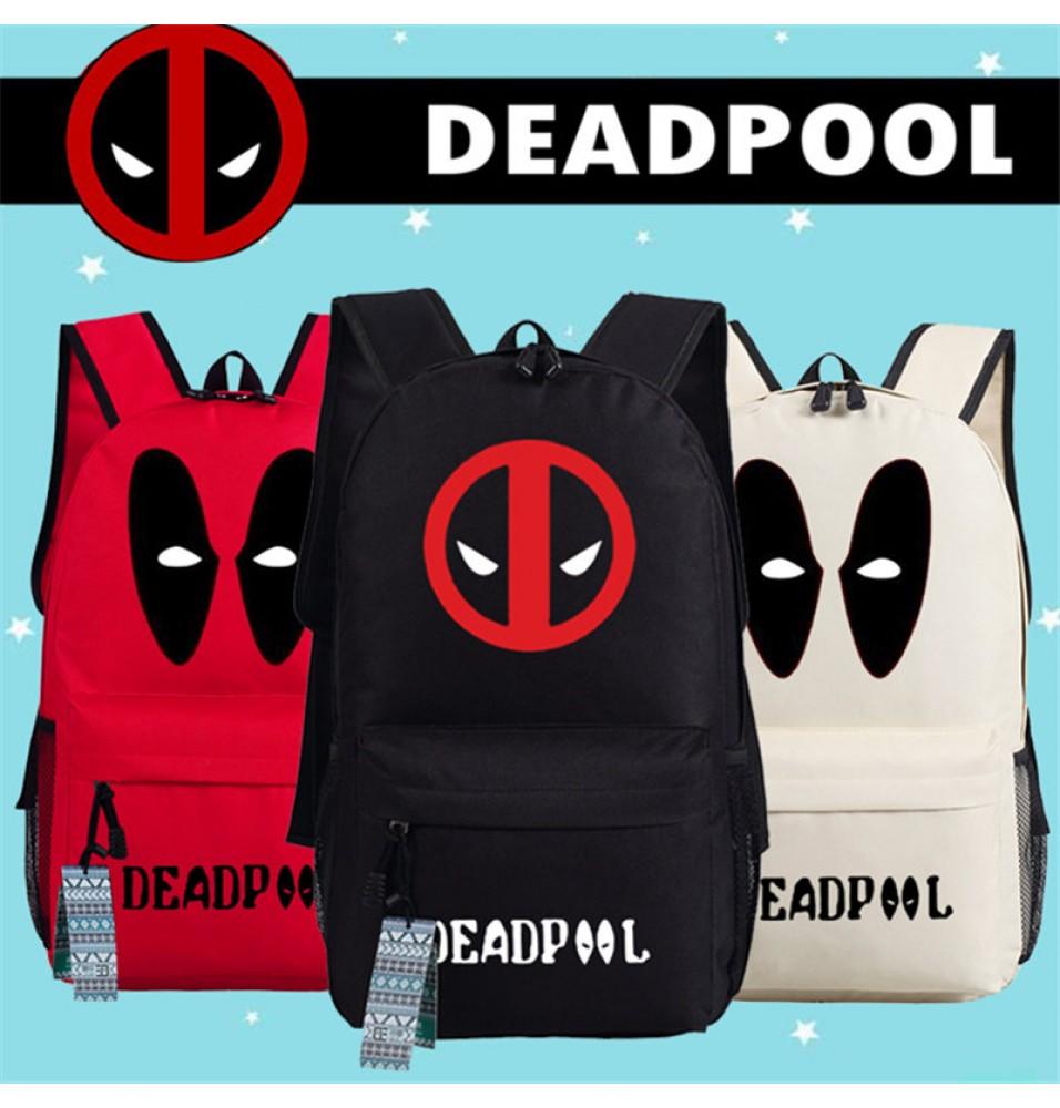 Deadpool Super Hero Backpack School Bag