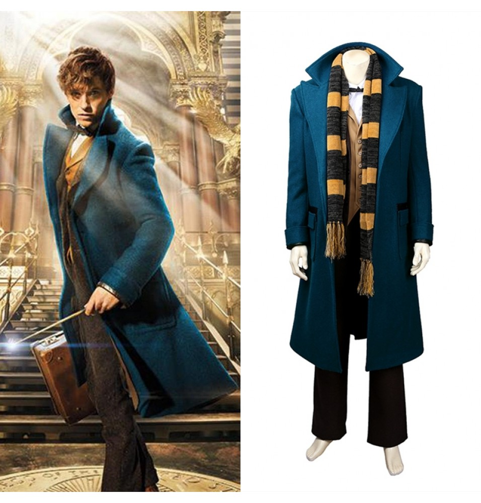 Fantastic Beasts And Where To Find Them Newt Scamander Costume - Deluxe Version