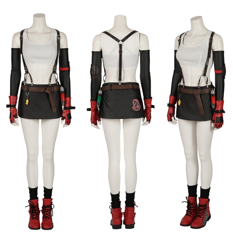 Final Fantasy VII Remake Tifa Cosplay Costume