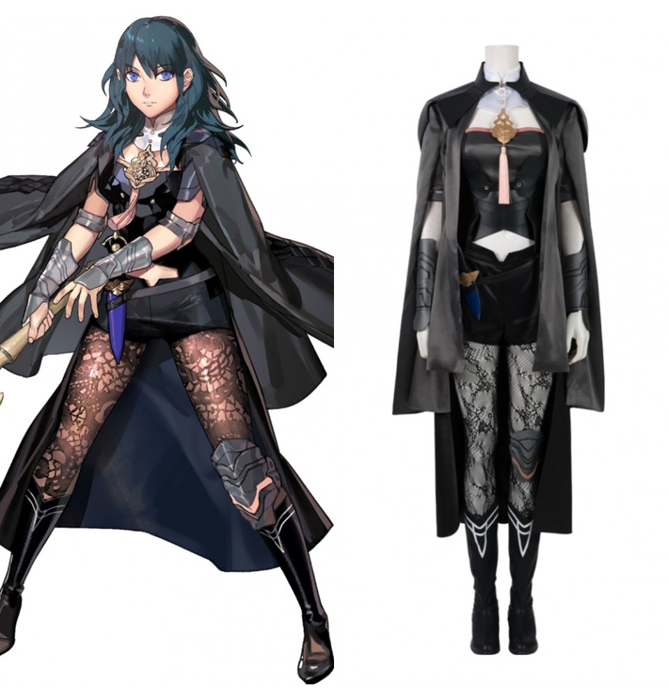 Fire Emblem Three Houses Female Byleth Cosplay Costume Deluxe