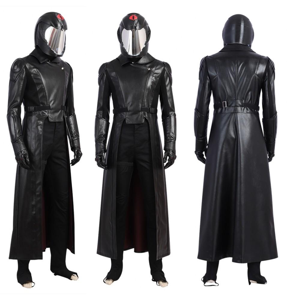 G.I.Joe Retaliation Cobra Commander Cosplay Costume