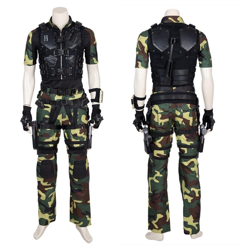 G.I.Joe Retaliation Roadblock Cosplay Costume