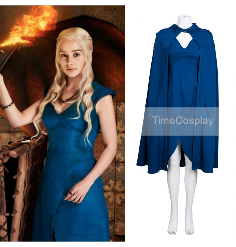 Game of Thrones Daenerys Targaryen Dress Cosplay Costumes