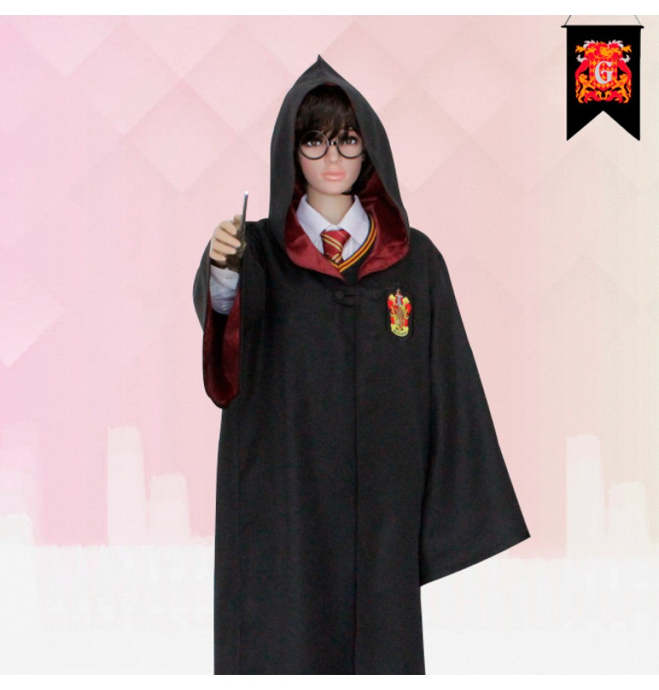 Harry Potter Gryffindor School Uniform Robe