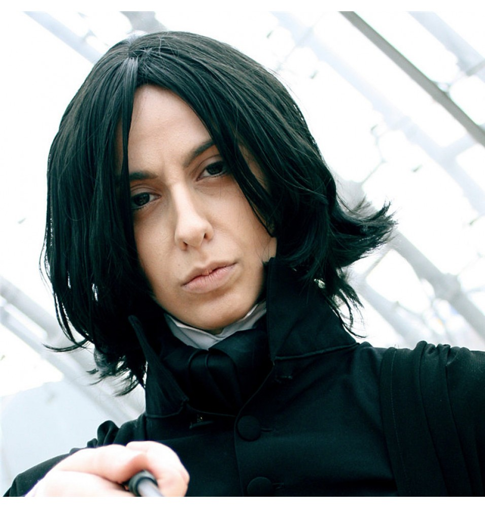 Harry Potter Severus Snape Cosplay Wigs