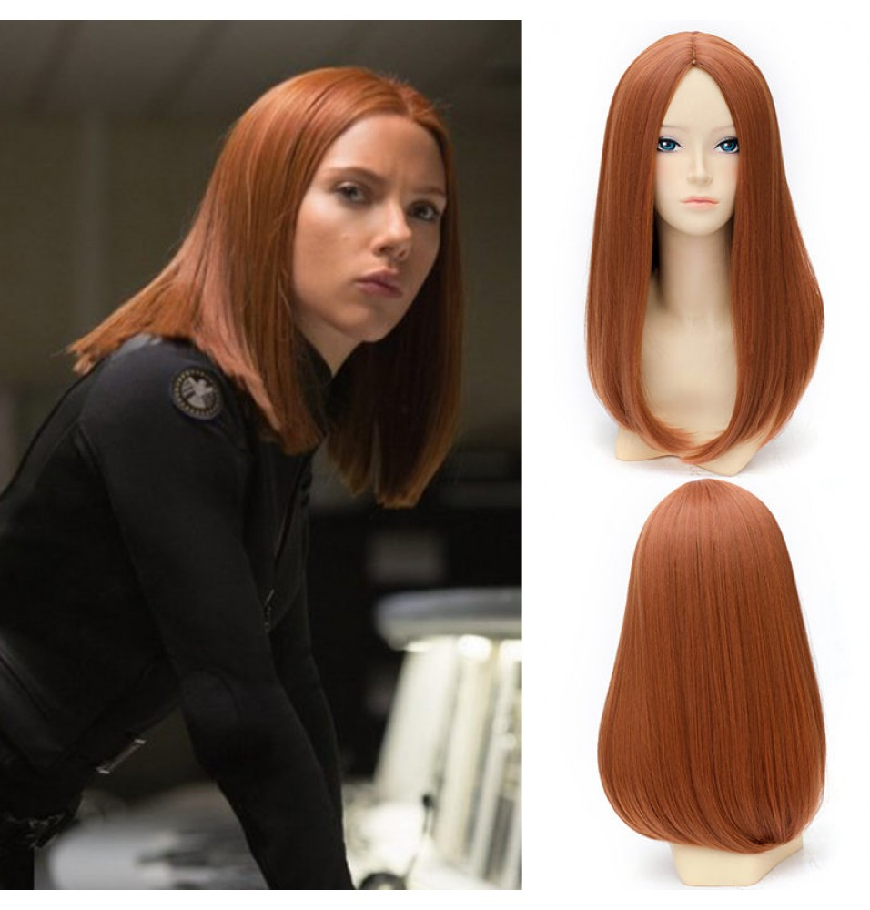 Black Widow Cosplay Wigs