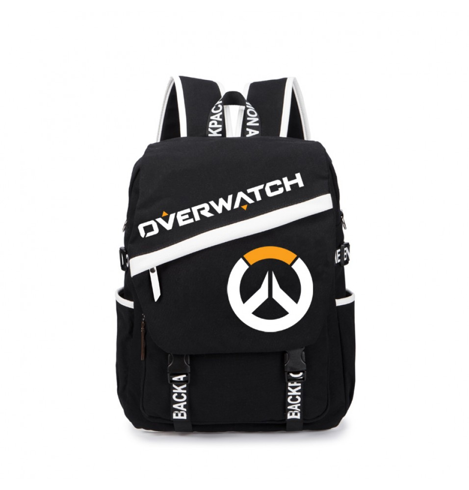 Overwatch Icon Genji Reaper Backpacks Schoolbags