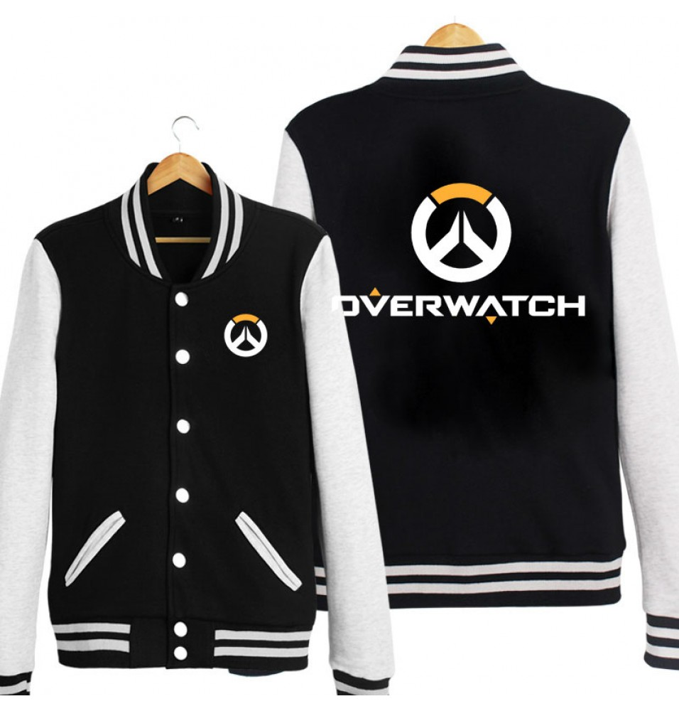 Overwatch Icon Cool Hoodie Baseball Jacket
