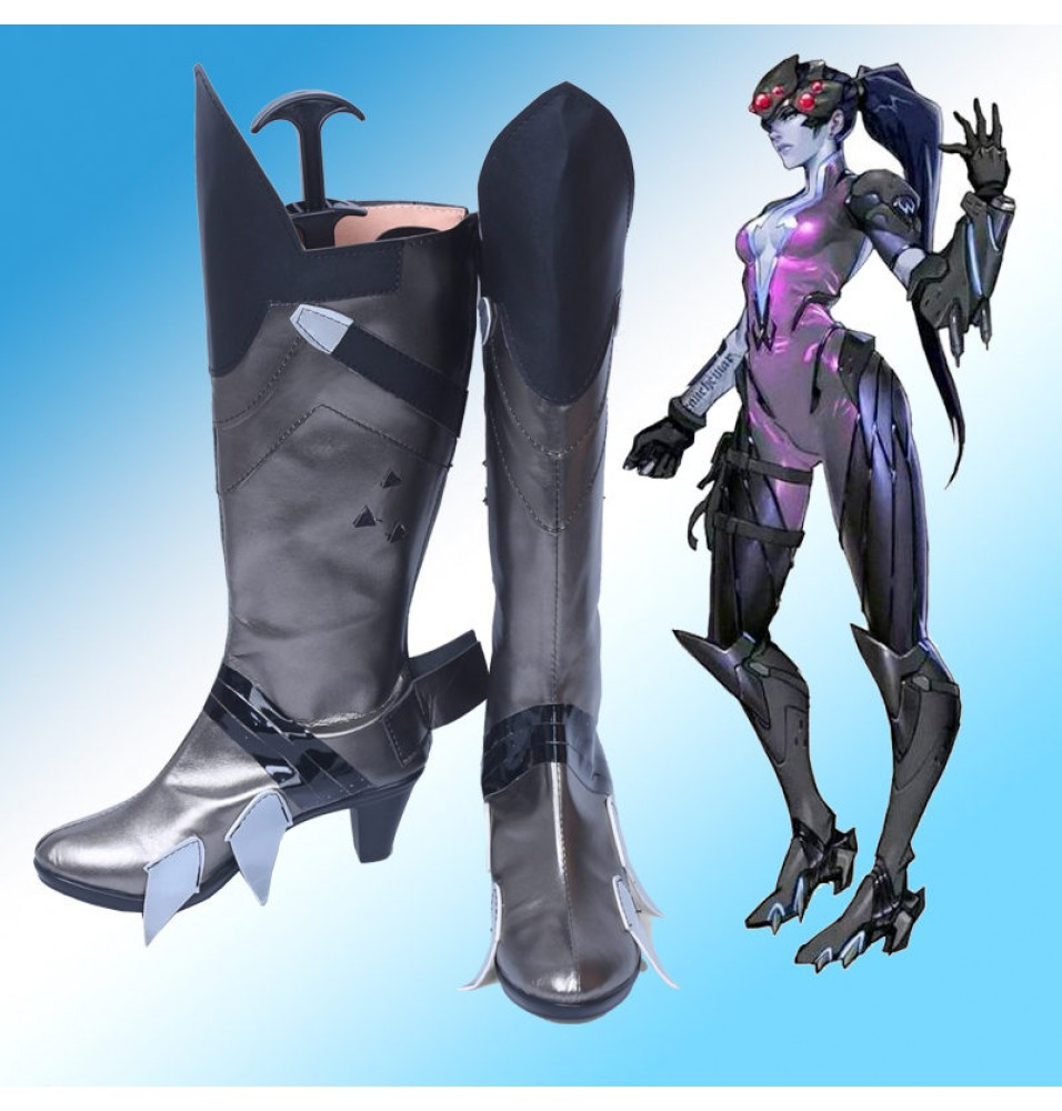 Overwatch Widowmaker Shoes Cosplay Halloween Boots