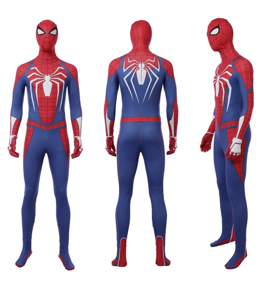 PS4 Game Spider-Man Cosplay Costume
