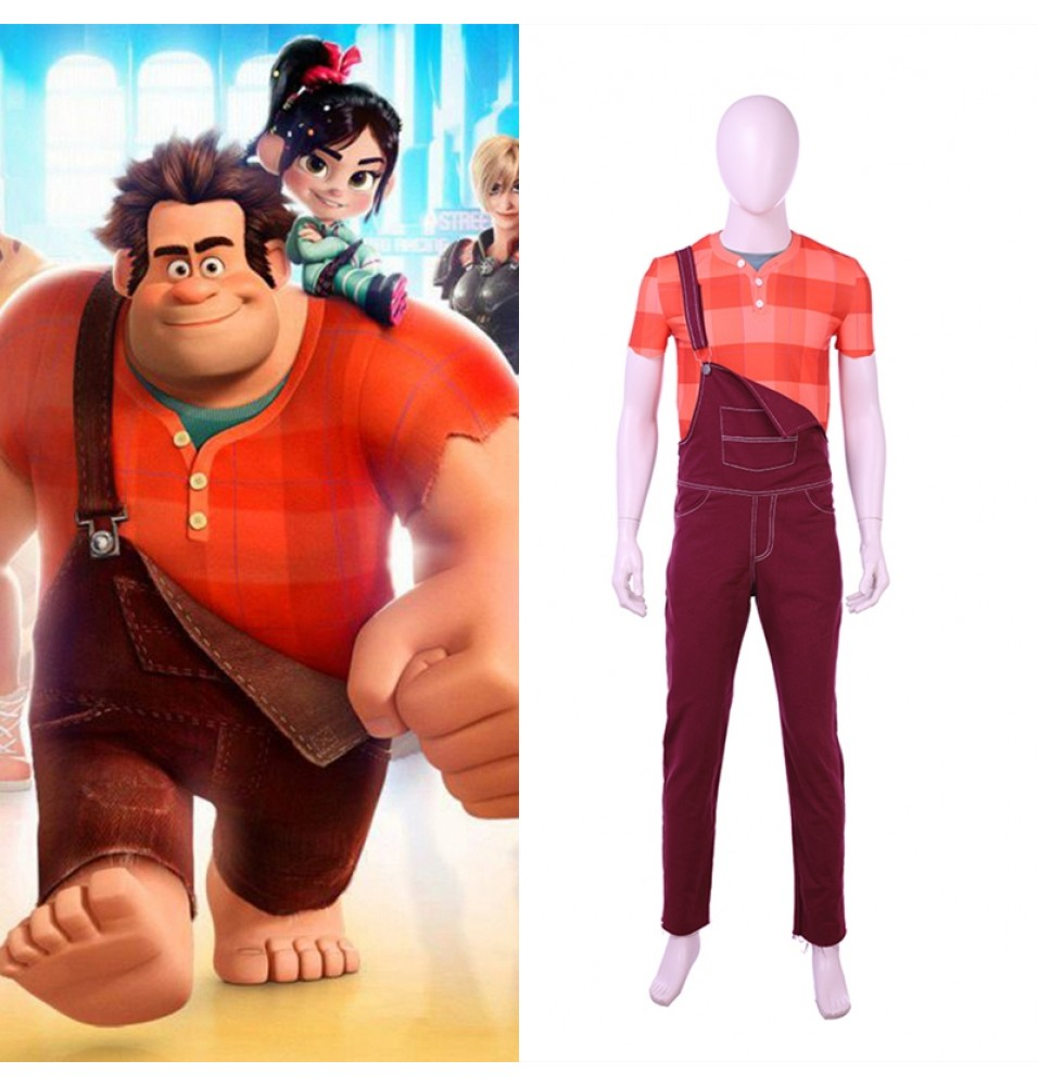 Ralph Breaks the Internet: Wreck-It Ralph Cosplay Costume