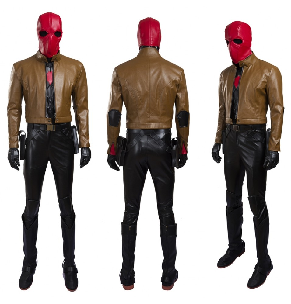 Red Hood Jason Todd Cosplay Costume