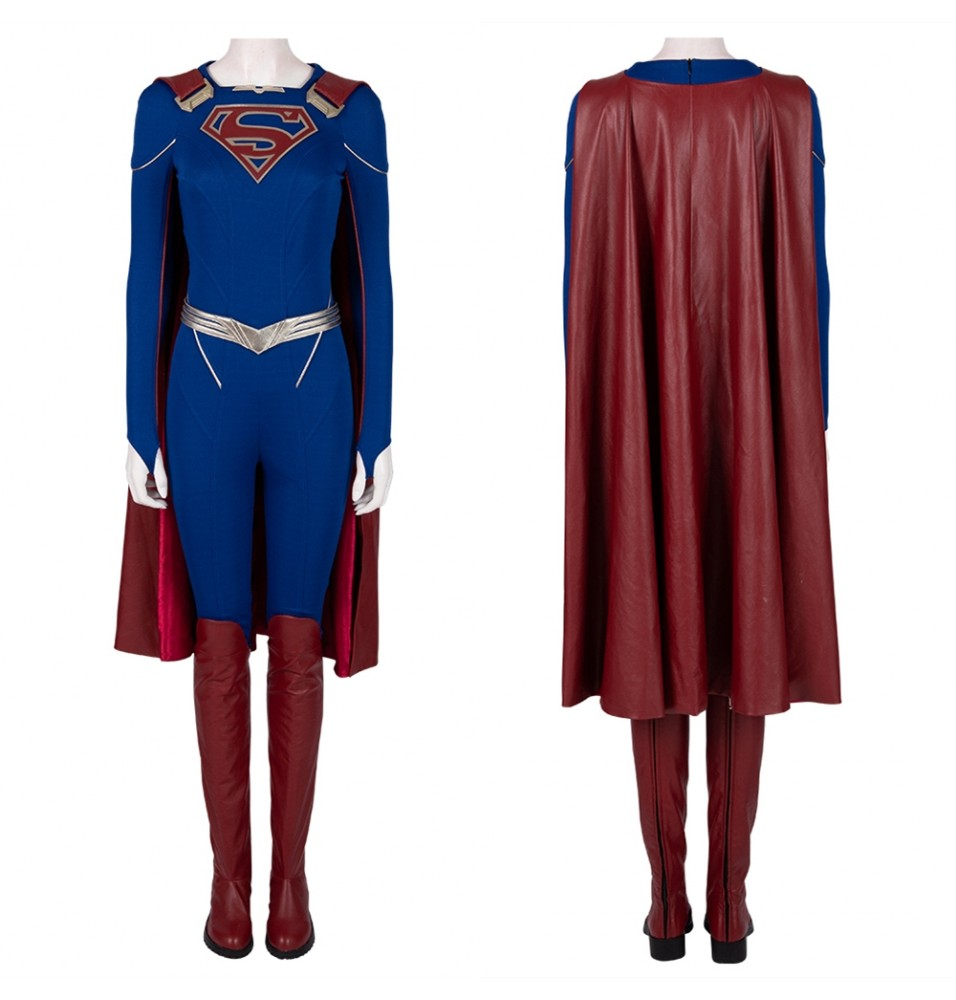 Supergirl Season 5 Supergirl Cosplay Costume