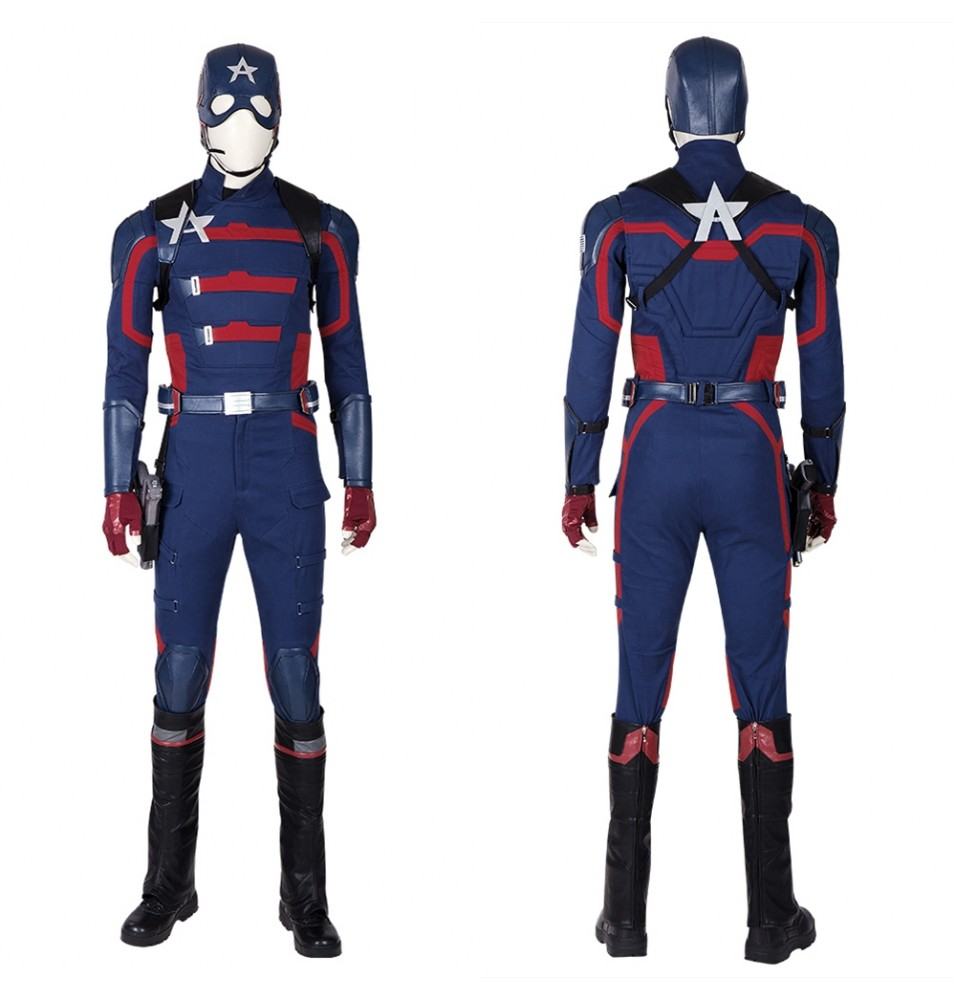 The Falcon and The Winter Soldier Captain America Cosplay Costume