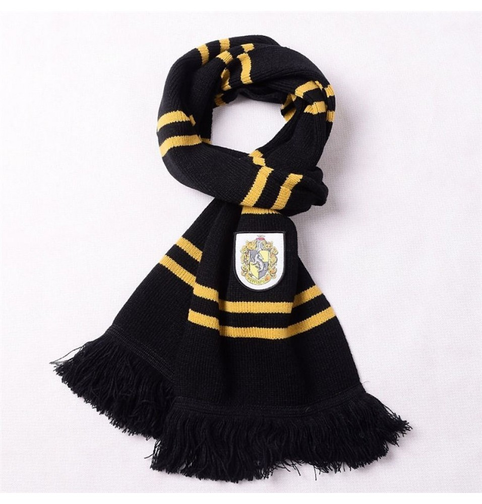 The Movie Harry Potter Hufflepuff Wool Scarf