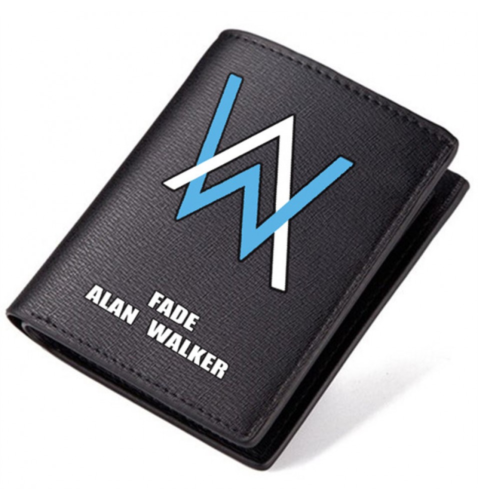 Timecosplay Alan Walker logo Black Wallet