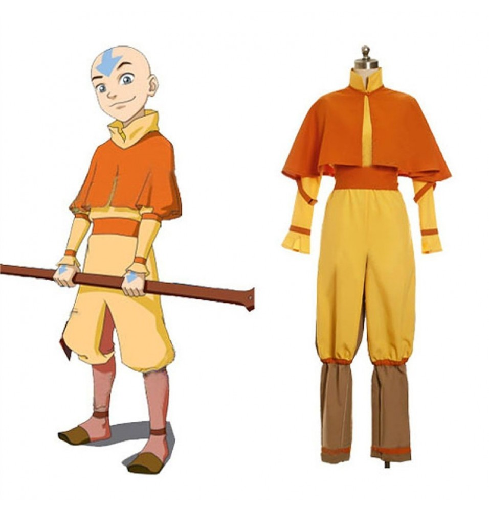 Timecosplay Avatar The Last Airbender Aang Cosplay Costume
