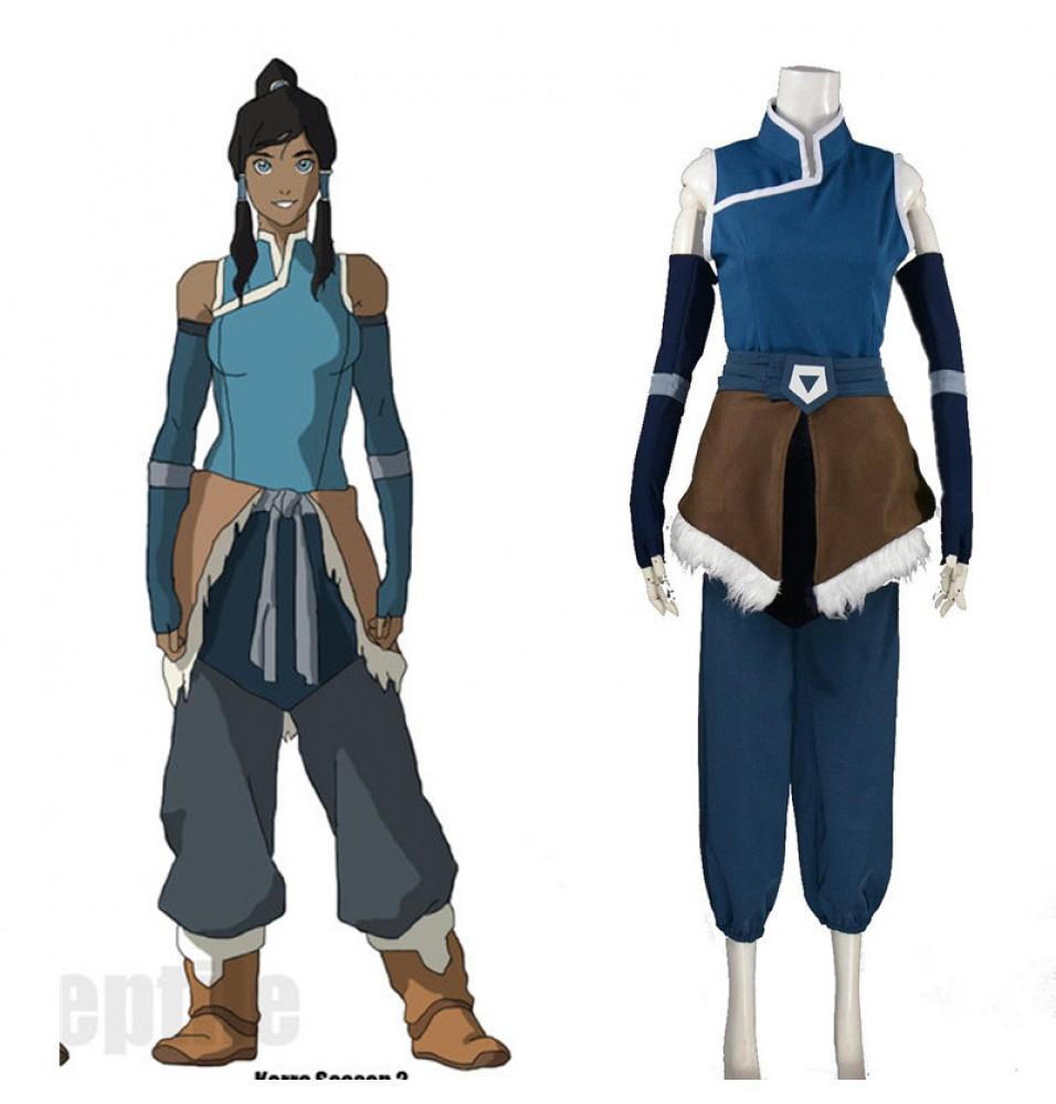 -44%Off Timecosplay Avatar The Legend of Korra Cosplay Korra Season Costume  ...