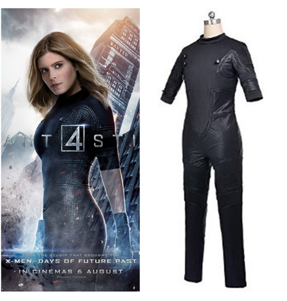 -60%Off Timecosplay Fantastic Four 2015 Invisible Girl Cosplay Costume ...  sc 1 st  TimeCosplay & Buy Fantastic Four Costumes Fantastic Four Halloween Costumes ...
