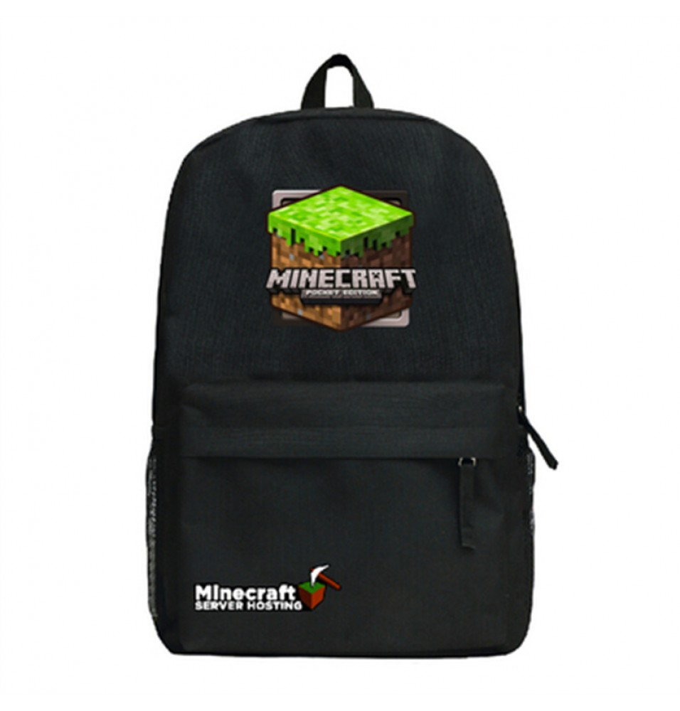 Timecosplay Minecraft Sign School bag Backpack