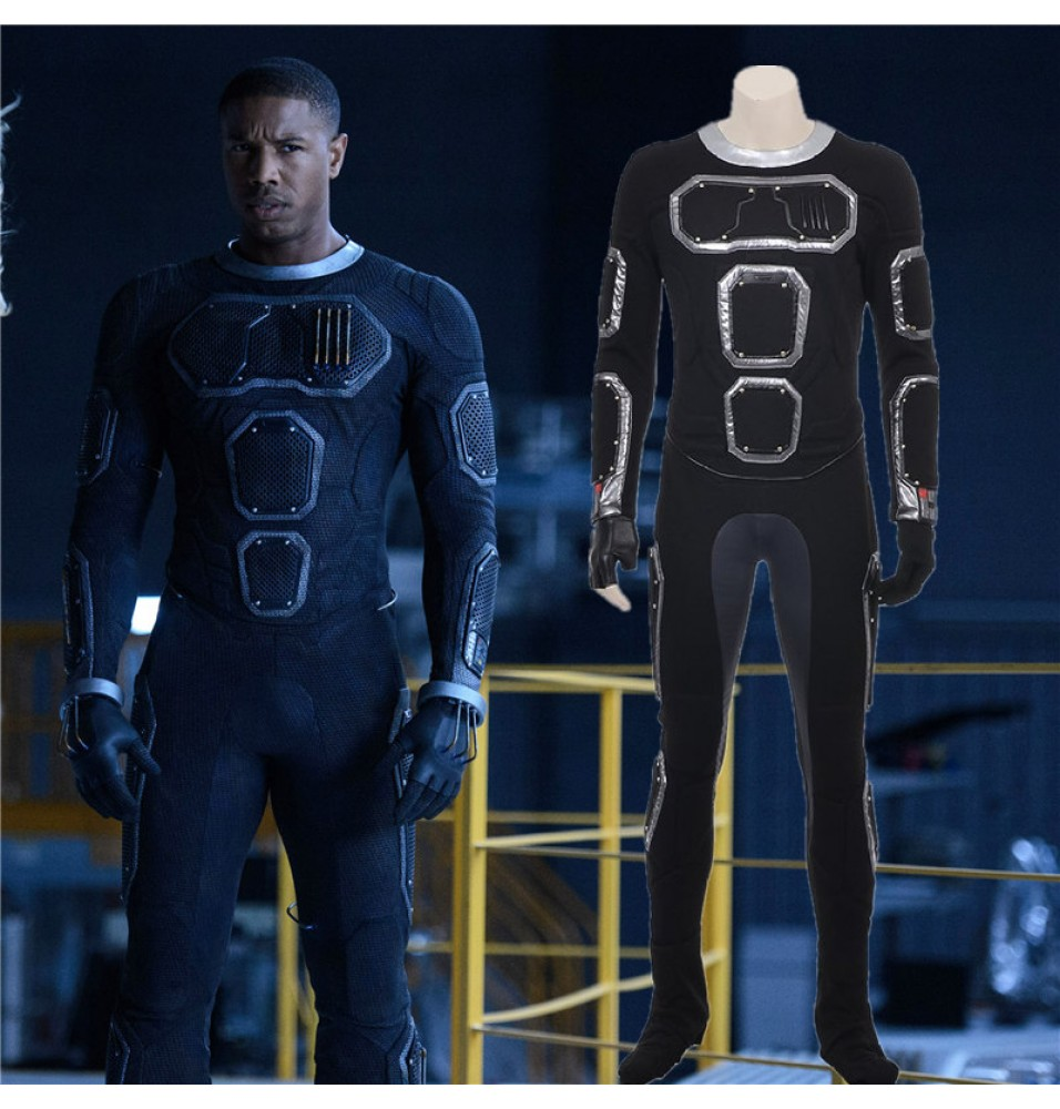 Timecosplay New Fantastic Four Human Torch Jonathan Storm Cosplay Costume