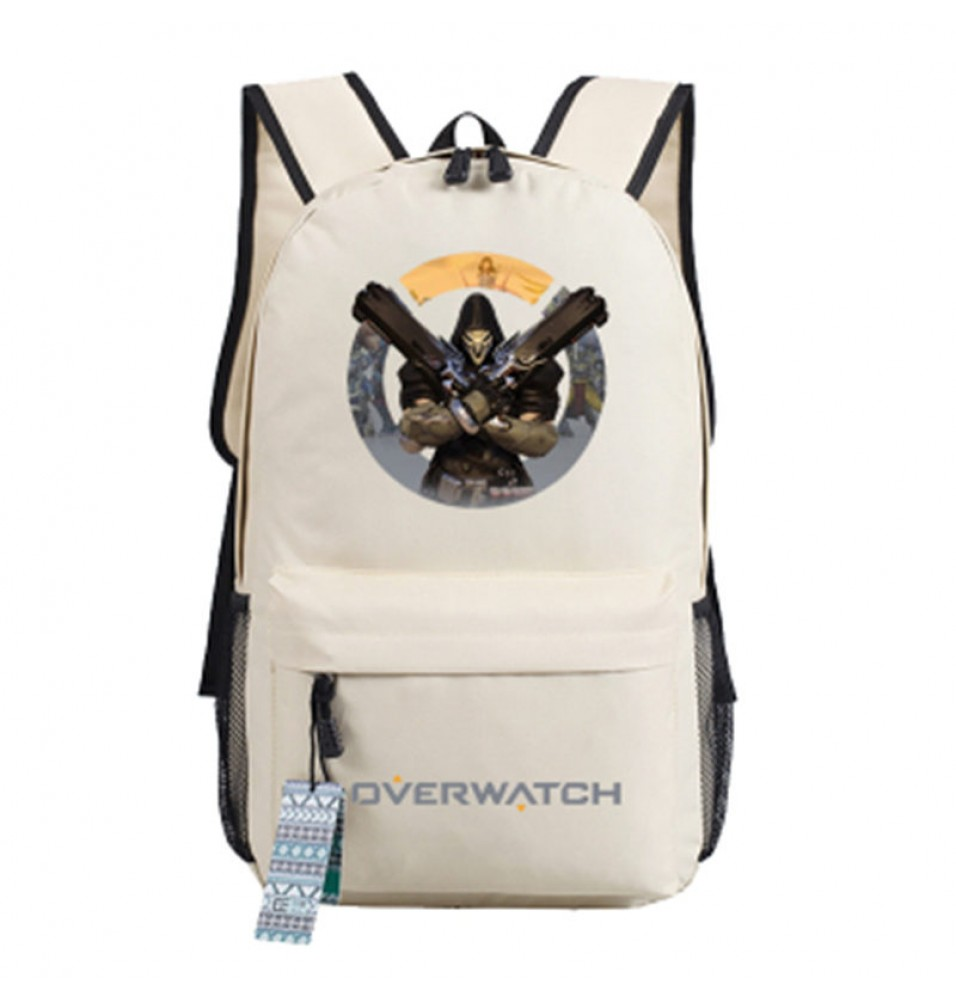 Timecosplay Overwatch Reaper Icon Backpack School Bag