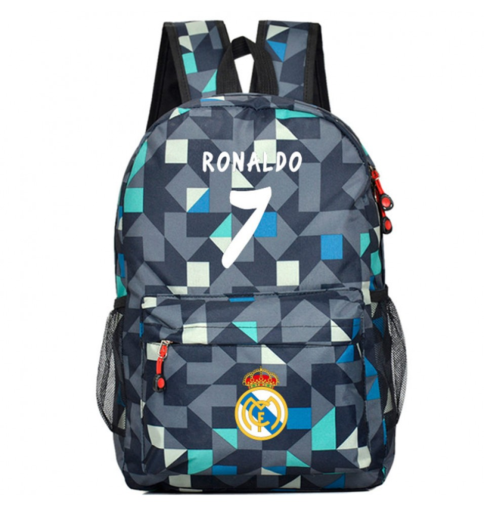 Timecosplay Real Madrid Cristiano Ronaldo 7 Quilted School bag Backpack