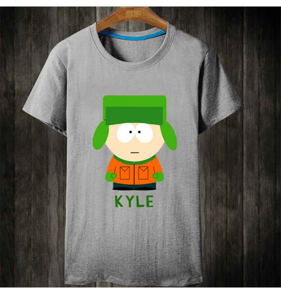 Timecosplay South Park Kyle Short Sleeve Tee Shirts
